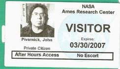 private citizen pivarnick reports for moon mission...